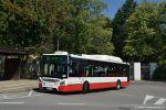 Prvním autobusem Iveco Urbanway 12M CNG s klimatizací se už v roce 2017 stal vůz 7062