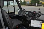 Součástí kabiny řidiče je také stojan na pokladnu Mikroelektronika USV 24 C