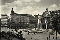 Malinovského náměstí v 60. letech.