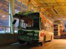 Vůz 3019 odstavený ve vozovně Komín