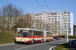 Letos se na lince H24 setkáme také s čerstvě zrekonstruovaným trolejbusem 15Tr 3502