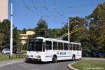 trolejbus 3260 ve smyčce Vychodilova