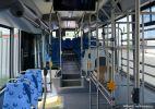 Interiér nových autobusů je přizpůsoben provozu na letištní lince E76