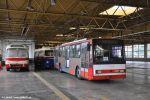 trolejbus 3249 v průběhu přestavby na pracovní vůz