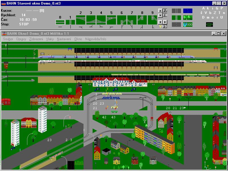 Demo dodávané s programem.