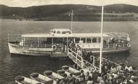 Pionýr je první loď kompletně postavená v Dopravním podniku v roce 1950. Dosud je v provozu.